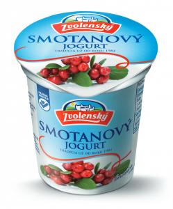 Smotanový jogurt - Brusnica