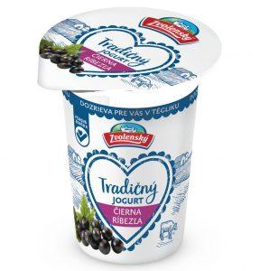 Tradičný jogurt - Čierna ríbezľa