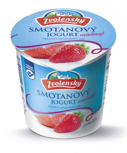 Smotanový jogurt - Jahoda 320g